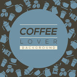 Coffee Lover Background. Stock Photos