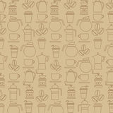 Coffee Lover Background. Royalty Free Stock Photo
