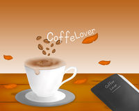 Coffee Lover Vector Royalty Free Stock Photo