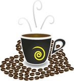 Coffee lovers Royalty Free Stock Images