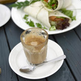Coffee and Lunch Stock Image