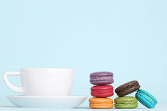 Coffee & Macaroons Stock Image