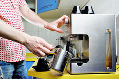 Coffee machine. Stock Photos