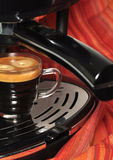 Coffee machine. Espresso coffee machine making coffee Stock Images