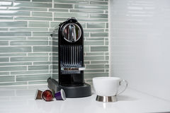 Coffee-machine stock photos