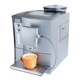 Coffee Machine With Cup Royalty Free Stock Photo