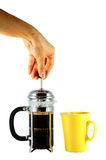 Coffee machine . Royalty Free Stock Photos