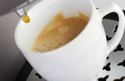 Coffee machine espresso Stock Image