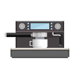 Coffee machine isolated icon Royalty Free Stock Image