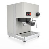 Coffee Machine. Isolated render on a white background Stock Photos