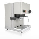 Coffee Machine. Isolated render on a white background Royalty Free Stock Images