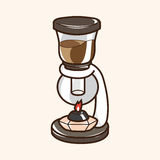 Coffee machine theme elements vector,eps Stock Photo