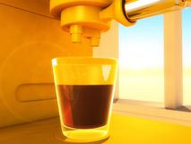 Coffee-maker Royalty Free Stock Photography
