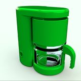 Coffee maker. Cofee maker for breakfast used in the world Royalty Free Stock Photos