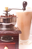 Coffee maker and coffee Stock Images