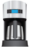 Coffee maker with display Stock Photography