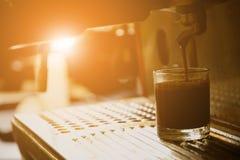Coffee maker equipment Stock Image