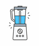 Coffee maker icon Stock Photography