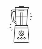 Coffee maker icon Royalty Free Stock Photo