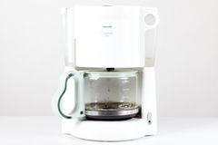 Coffee maker isolated on the white Stock Photography