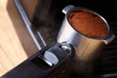 Coffee maker machine Royalty Free Stock Images
