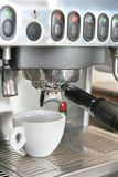 Coffee maker or machine royalty free stock images
