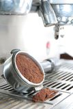 Coffee maker or machine. Focus at center Stock Images