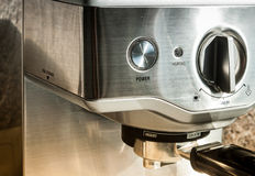 Coffee maker machine Stock Images