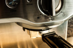 Coffee maker machine Royalty Free Stock Photo