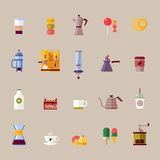 Coffee maker vector Stock Images