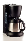 Coffee maker on white Royalty Free Stock Image