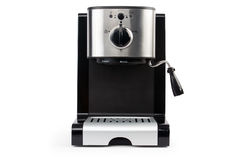 Coffee maker. On a white background isolated Stock Photo
