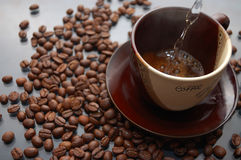 Coffee making Royalty Free Stock Image