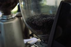 Coffee making equipment. Best Coffee & Tea at Singh Park Chian Rai, Thailand Royalty Free Stock Photography