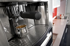 Coffee making machine Royalty Free Stock Photos