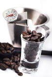 Coffee making tools Stock Photography