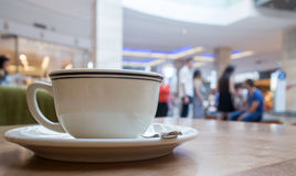 Coffee in mall Royalty Free Stock Images