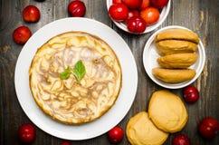 Coffee Marble Cheesecake Royalty Free Stock Photos