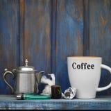Coffee And Marijuana Stock Photography