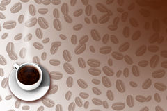 Coffee Menu 2. A background for coffee menu Royalty Free Stock Photos