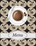Coffee menu Stock Images