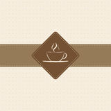 Coffee Menu. Menu design for cafes and bakeries Royalty Free Stock Photo