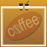 Coffee menu Royalty Free Stock Image