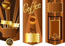 Coffee menu card Royalty Free Stock Images