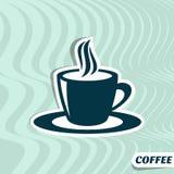 Coffee menu card Stock Photography