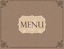 Coffee menu pattern Royalty Free Stock Images