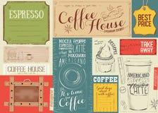 Coffee Menu Placemat Royalty Free Stock Photo