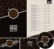Coffee menu Royalty Free Stock Photography