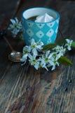 Coffee meringue Stock Photography