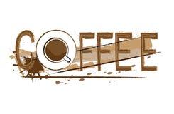 Coffee royalty free illustration